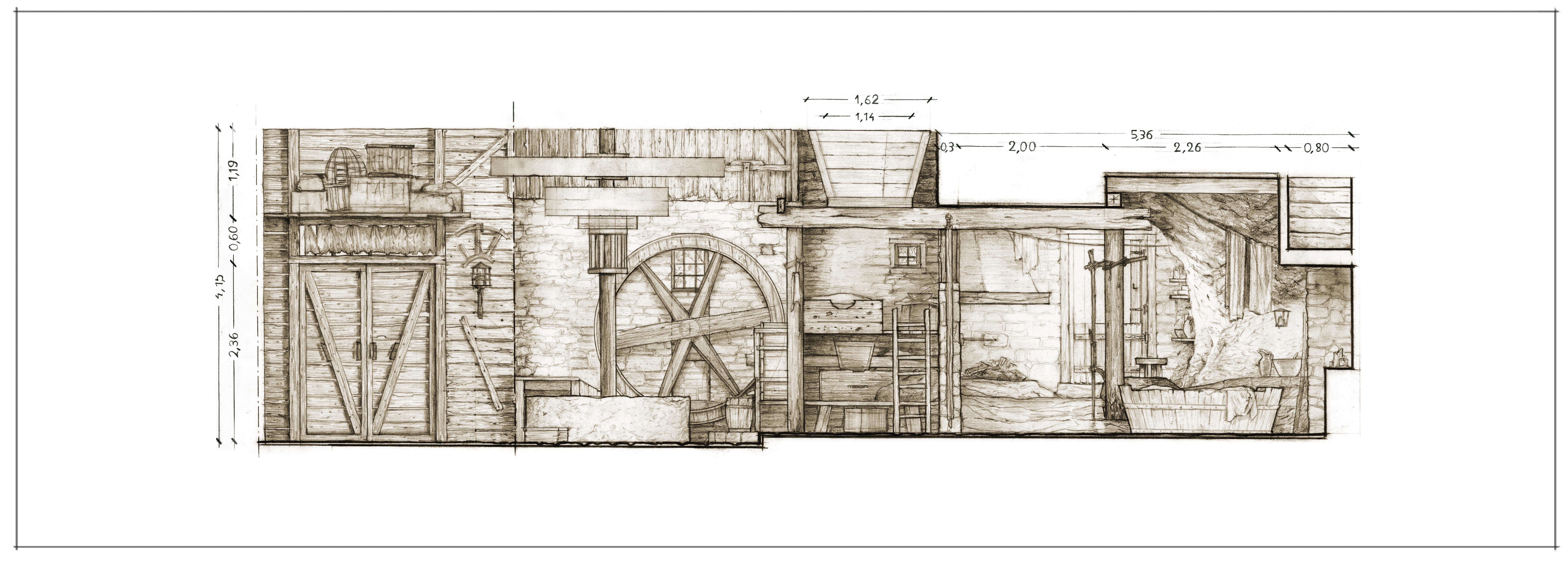 18 Mulino A3 x2 prospetto B