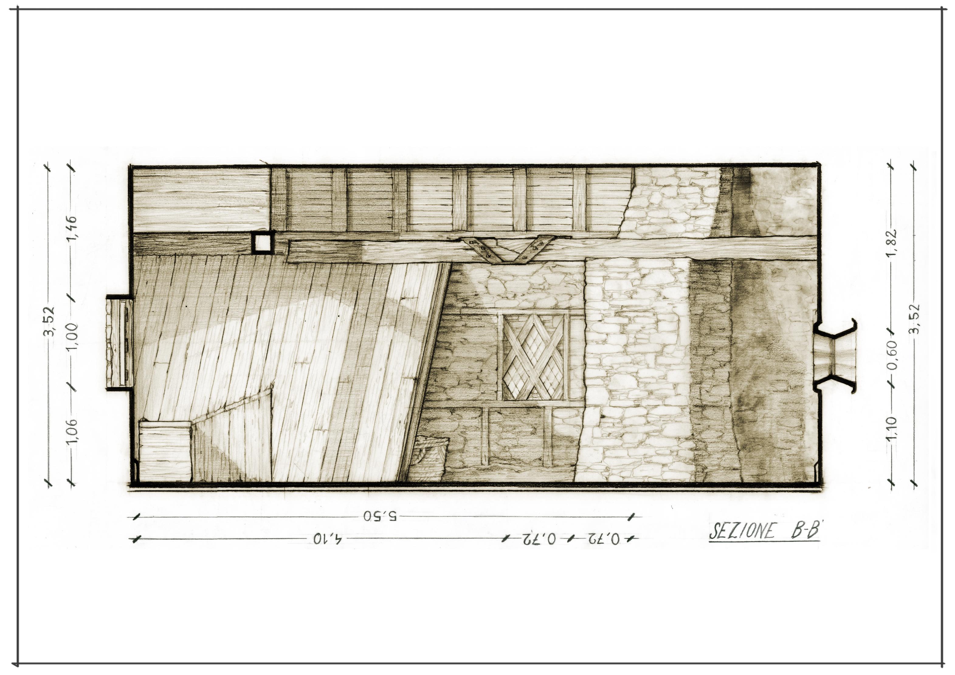 40 Casa Comare interno A3 Sezione B